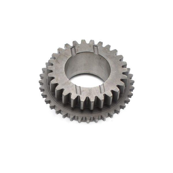 Tandwiel voor in versnellingsbak Iseki TG: TG5330 TG5390 TG5470 Betreft origineel Iseki onderdeel! Origineel onderdeel nummer: 1742-214-004-10 174221400410 Afmetingen: Tanden: 26 stuks Diameter gat: 38mm