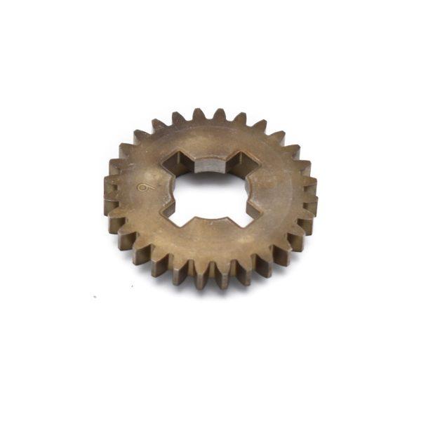 Gear Iseki SW519 Concerns original iseki part! Original part number: 2503-311-007-20 250331100720 Dimensions: Teeth: 28 pcs