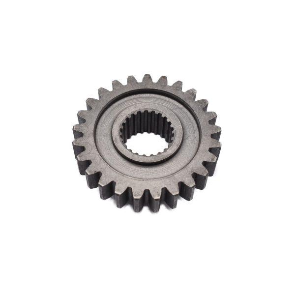 GEAR FOR KUBOTA B SERIES Kubota: B5000 B5001 (until serie nr. 10030) B6000 B6001 (until serie nr. 10230) B7000 B7001 (until serie nr. 10030) Dimensions: Teeth: 25 pcs Splines: 22 pcs