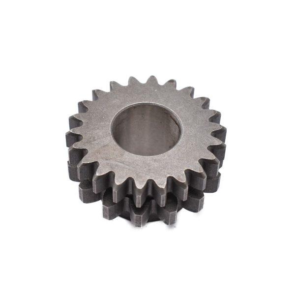 GEAR FOR KUBOTA B SERIES Kubota: B1-14 B40 B1200 B1400 B1402 Dimensions: Teeth: 15 / 22 pcs 6721114850 / 67211-14850 / 67211-1485-0