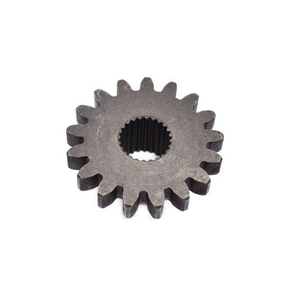 GEAR FOR KUBOTA Kubota: B5000 (until serienumber 12751) B5001 Dimensions: Teeth: 17 pcs Splines: 24 pcs 66621-1434-2 66621-14342 6662114342