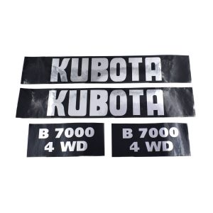 Sticker set Kubota B7000