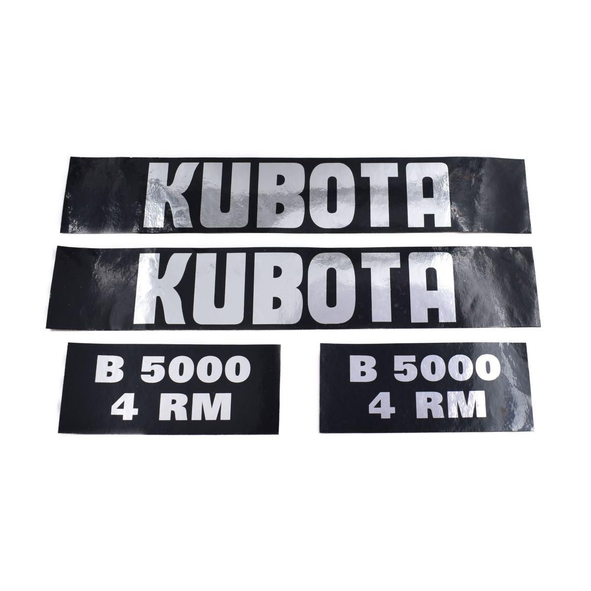 Sticker set Kubota B5000