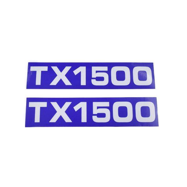 Sticker set Iseki TX1500