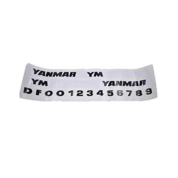 Sticker set Yanmar YM