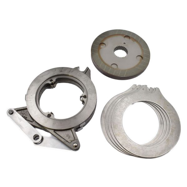 COMPLETE SET BRAKE SYSTEM FOR ISEKI Contents: 6 brake discs 4 brake rings 1 brake system Original part number: 1568-310-210-20 156831021020 This is an original Iseki part! Dimensions: Brake disc diameter: 182mm