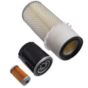 Filter set Hinomoto E232, E262, E264, E2002, E2004, E2302, E2304, E2602, E2604