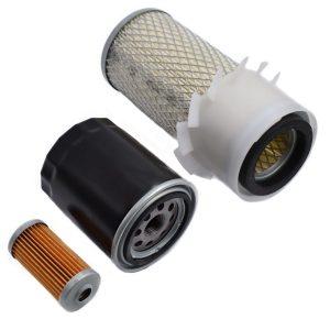 Filter set Hinomoto E182, E184, E202, E204, E222, E224, E1802, E1804