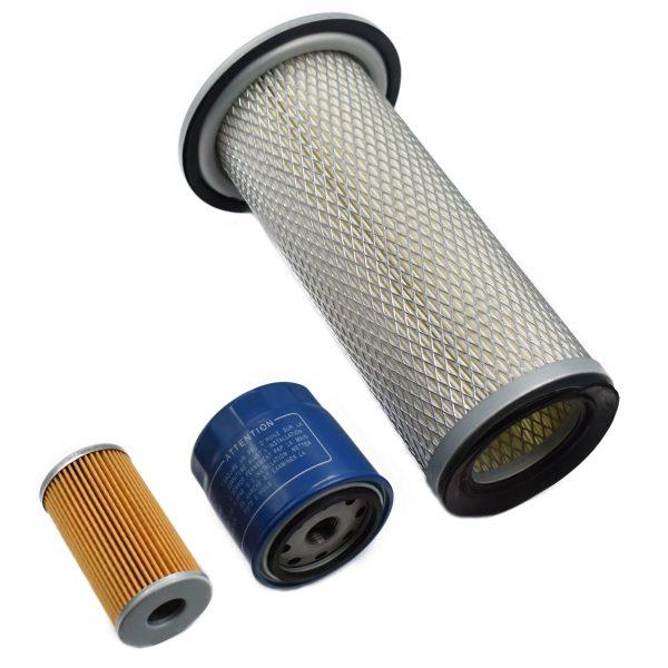FILTER KIT ISEKI TA (LANDLEADER) Iseki TA: TA207 TA210 TA215 TA227 TA230 TA235 TA237 TA250 TA255 TA257 TA262 TA263 TA267 TA270 TA275 TA287 TA312 TA317 TA530 Set contents: 1x Fuel filter 1x Oil filter 1x Air filter