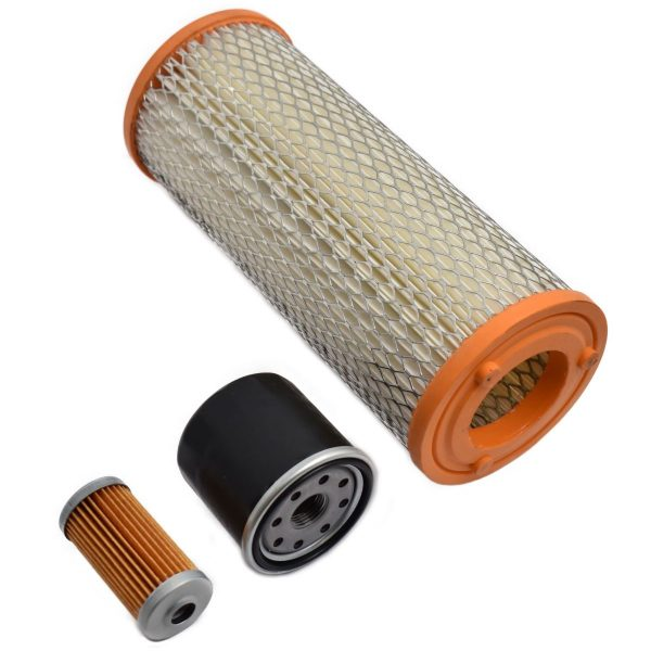 FILTER SET ISEKI TF (SIAL) Iseki TF: TF21 TF23 TF26 TF193 TF223 Set content: 1x Fuel filter 1x Oil filter 1x Air filter (Note: 2 types of air filters! ZZ14)