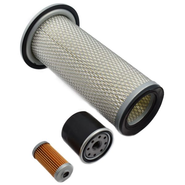 FILTER SET ISEKI TF (SIAL) Iseki TF: TF21 TF23 TF26 TF193 TF223 Set content: 1x Fuel filter 1x Oil filter 1x Air filter (Note: 2 types of air filters! ZZ13)