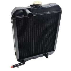 RADIATOR ISEKI TE, TL Iseki TE: TE4270 TE4350 Iseki TL: TL1900 TL2100 TL2300 TL2301 TL2500 TL2501 Dimensions: Width: 365mm Height: 485mm (without the filler cap) Thickness: 70mm Connection top: 35mm Connection bottom: 22mm Including overpressure hose 1507-101- 300-00 / 1507-101-3000-0 / 150710130000