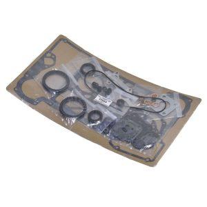 GASKET SET KUBOTA D950 set contains : (such ase) Koppakking Intake + exhaust gasket Distributiongasket Valve seals Crankshaft seal front en rear Crankcase gasket etc. Kubota with D950 motor: B1600 B1702 B1-16 B1-17