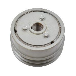 PUlley ISEKI Original part number: C129PAF112 Dimensions: Diameter outside: 136mm Diameter axle: 25mm Hight: 72.50mm