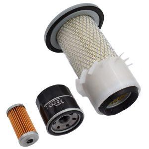 Filterset Yanmar F5, F6, F7, F145, F155, F165, F175 Yanmar F: F5 F6 F7 F145 F155 F165 F175 content set: 1x Fuelfilter 1x Oililter 1x Airfilter