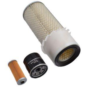 Filterset Yanmar F (Note! 2 types Fuelilters) Yanmar F: F18 F20 F22 F24 F26 F28 F32 F37 F42 F195 F215 F235 F255 Content set: 1x Fuelfilter (Note! 2 types Fuelfilters) 1x Oilfilter 1x Airfilter
