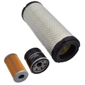 Filterset Yanmar F (Note! 2 types Fuelfilters) Yanmar F: F180 F190 F200 F210 F220 F250 Content set: 1x Fuelfilter (Note! 2 types Fuelfilters) 1x Oilfilter 1x Airfilter